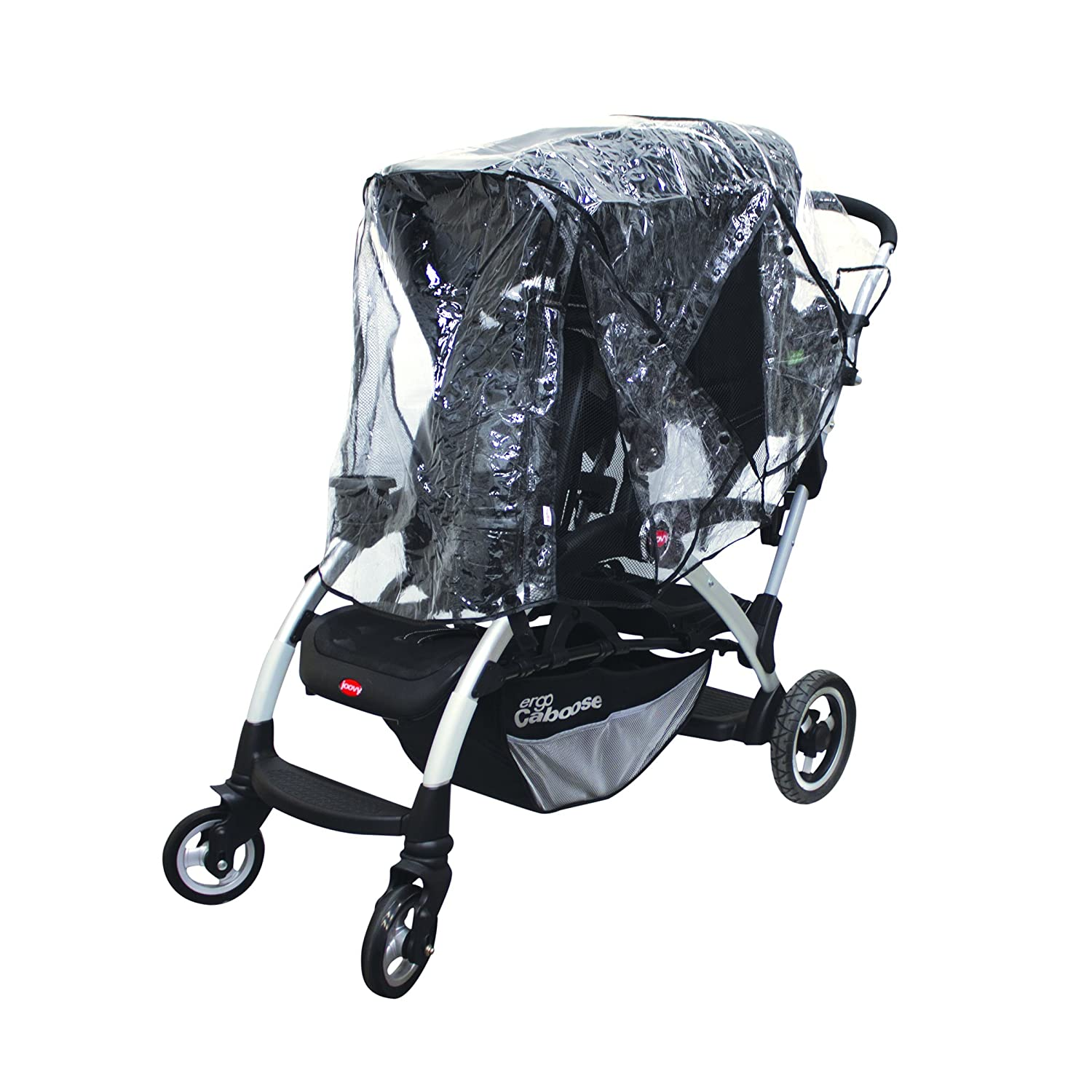 Nuby Deluxe Tandem Stroller Weather Shield, Clear N120017P