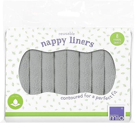 Bambino Mio, Forros reutilizables para pañal, Pack de 8: Amazon.es: Bebé
