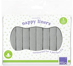 Bambino Mio Reusable Diaper Liners, 8 Pack