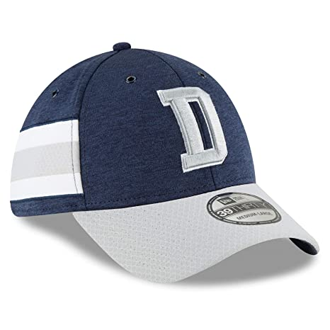 6f3a1f3d174 Amazon.com   New Era Dallas Cowboys 2018 NFL On Field Home 39THIRTY Cap -  Small Medium   Sports   Outdoors