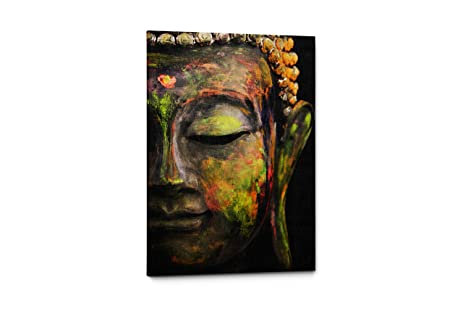 Beautiful Buddha Wall Art Canvas Print   Inspirational Quote Wall Art For Home Or  Office Decor (