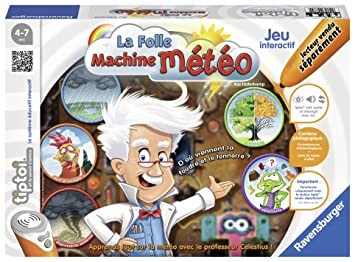Ravensburger 00784 Jeu Interactif Tiptoi La Folle Machine Meteo
