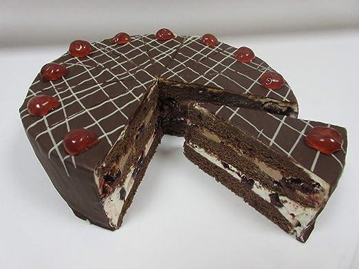 Vegane Kirsch Creme Torte Nach Schwarzwälder Art Mit Alkohol Amazon