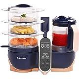 Babymoov Duo Meal Station XL | 6 in 1 Food Processor with Steamer, Multi-Speed Blender, Warmer, Defroster & Sterilizer (Nutri
