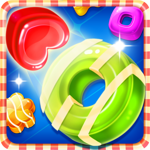 Candy Pop! - Candy Sugar Soda Match 3 Games Free (Top 1 Jelly Drop match games for adults)