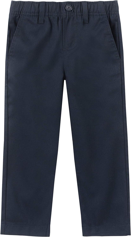 Chaps Boys' School Uniform Chino Twill Pant: Clothing