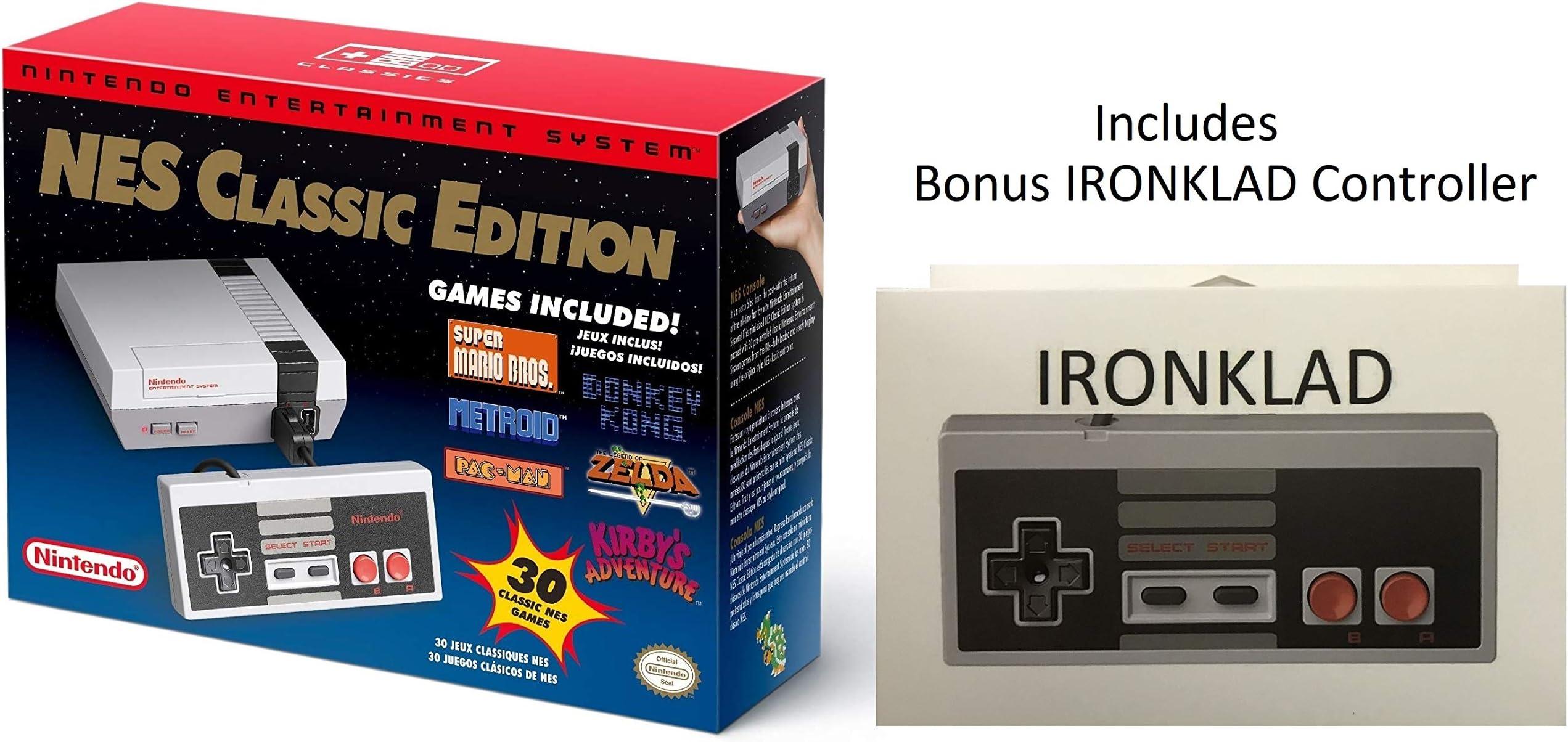 Amazon Com Nintendo Entertainment System Nes Classic Edition With