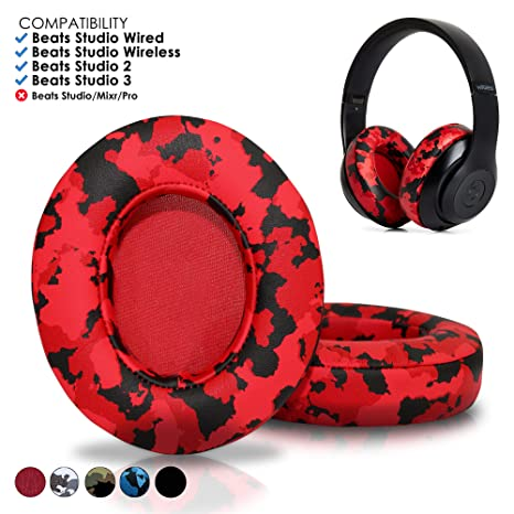 5091d776ae6 Upgraded Beats Replacement Ear Pads by Wicked Cushions - Compatible with  Studio Wired B0500 / Wireless