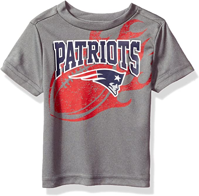 NFL New England Patriots Unisex Long-Sleeve Tee 3T Patriots