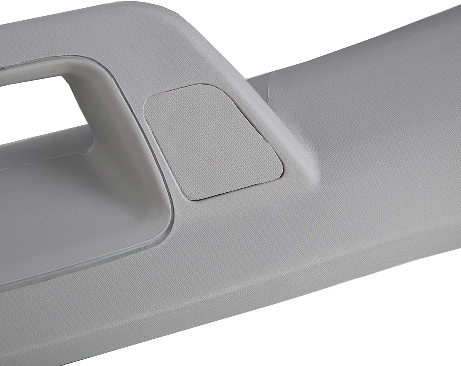 ECOTRIC Left Driver A Pillar Assist Handle Grab Bar Compatible with Chevy Silverado GMC Sierra 2014-2018 Gray