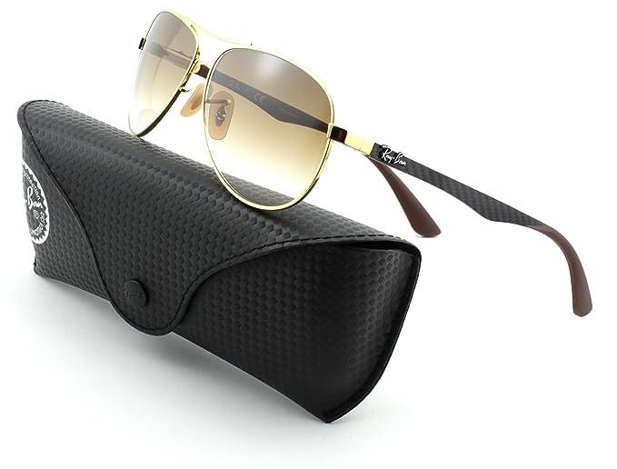 Amazon.com: Ray-Ban RB8313 Uniisex - Gafas de sol de fibra ...