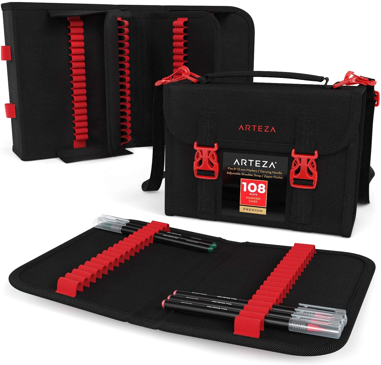 Organizador bolso Arteza (108 espacios) bandas ajustables
