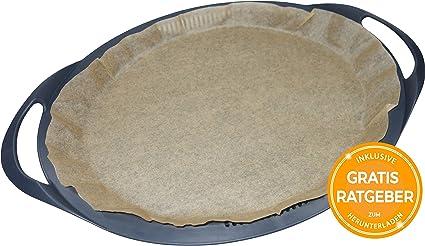 Handarbeit Aus Deutschland Braunes Backpapier Garpapier Bettys Dampfgarpapier F/ür Monsieur Cuisine Plus 20 Blatt