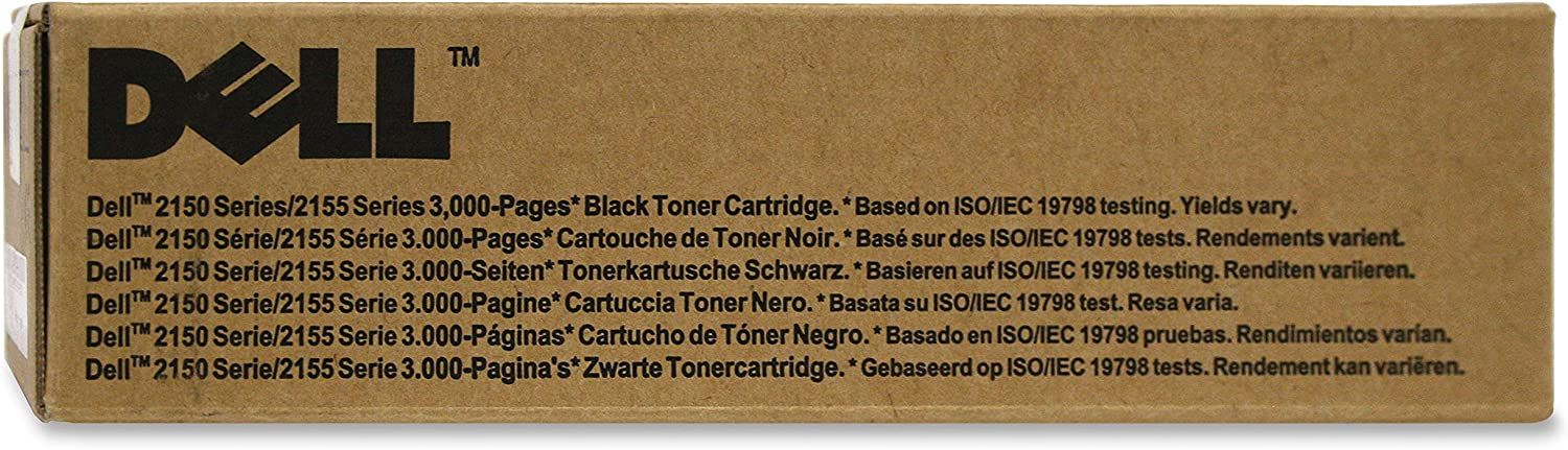 Dell N51XP Black Toner Cartridge 2150cdn/2150cn/2155cdn/2155cn Color Laser Printers