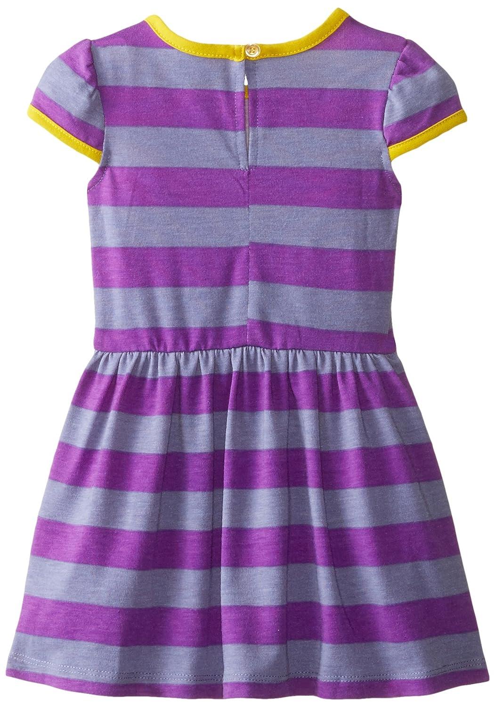 Amazoncom Marmellata Baby Girls Purple Striped Knit Dress Clothing