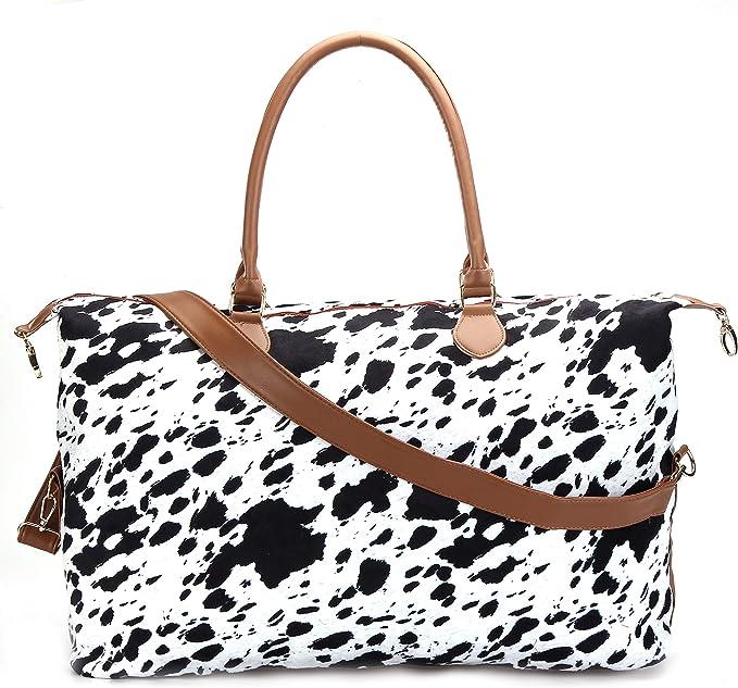 Dog Pattern Weekender Bag for Women Cute Beach Bag Australian Cattle Dog Mom Gift Weekend Bag Shopping Bag Heeler Tote Bag