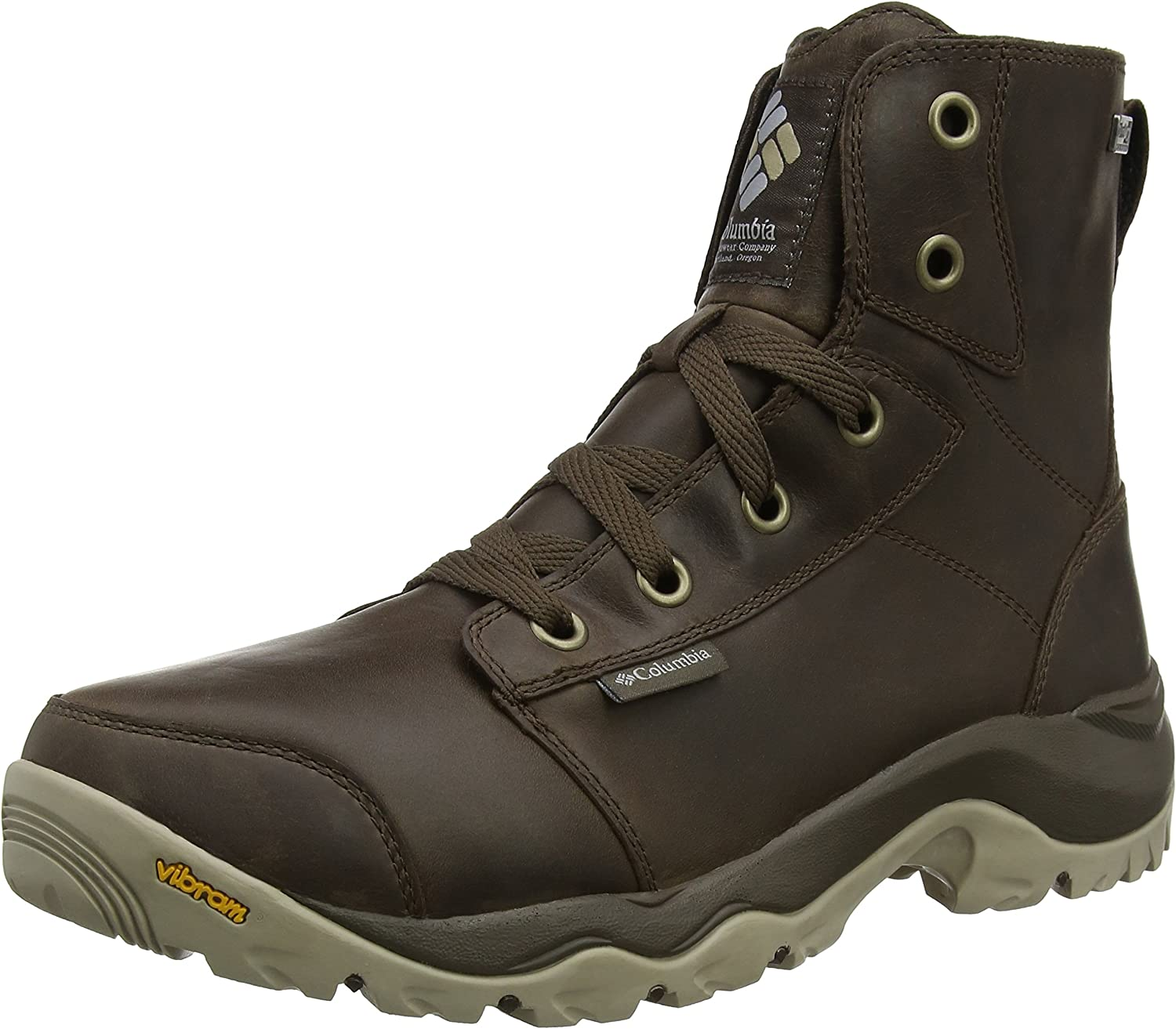 Columbia Camden Outdry Leather Chukka, Botas Casual, Impermeable para Hombre