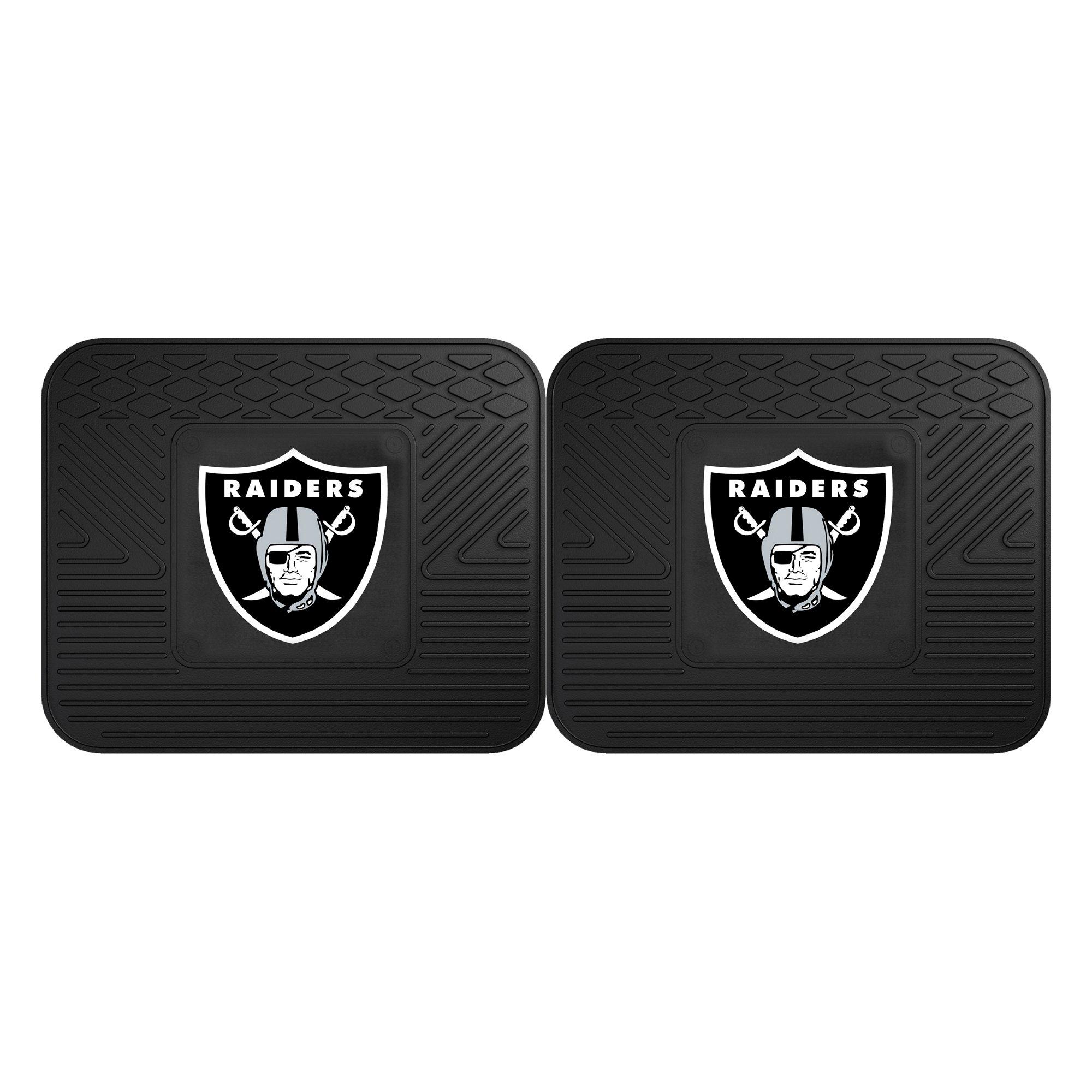 Fanmats 12318 NFL - Oakland Raiders Utility Mat - 2 Piece