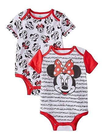 Amazon.com: Disney, Minnie Mouse - Conjunto de 2 camisetas ...