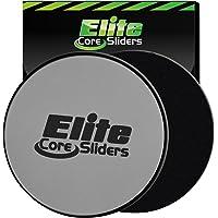 Elite sportz equipment 2disques de glisse double face - Pour tapis et sols durs-Argenté - Core