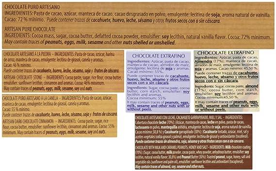 Chocolates Marcos Tonda Estuche Regalo Selección de Chocolate Artesanos - 1400 gr: Amazon.es: Alimentación y bebidas