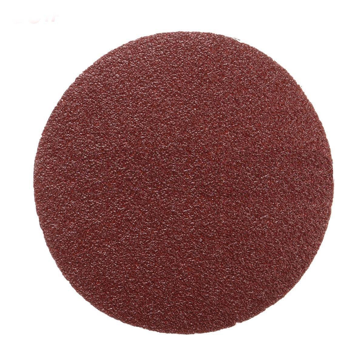 SODIAL 100Pcs Sanding Discs 75mm 3 inch Mixed Grit Sander Pads, 80# 100Pcs