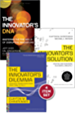 """Disruptive Innovation: The Christensen Collection (The Innovator's Dilemma, The Innovator's Solution, The Innovator's DNA, and Harvard Business Review ... Will You Measure Your Life?"""") (4 Items)"""