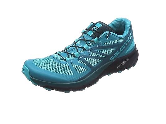 Salomon Sense Ride W, Zapatillas de Trail Running para Mujer, Azul (Bluebird/