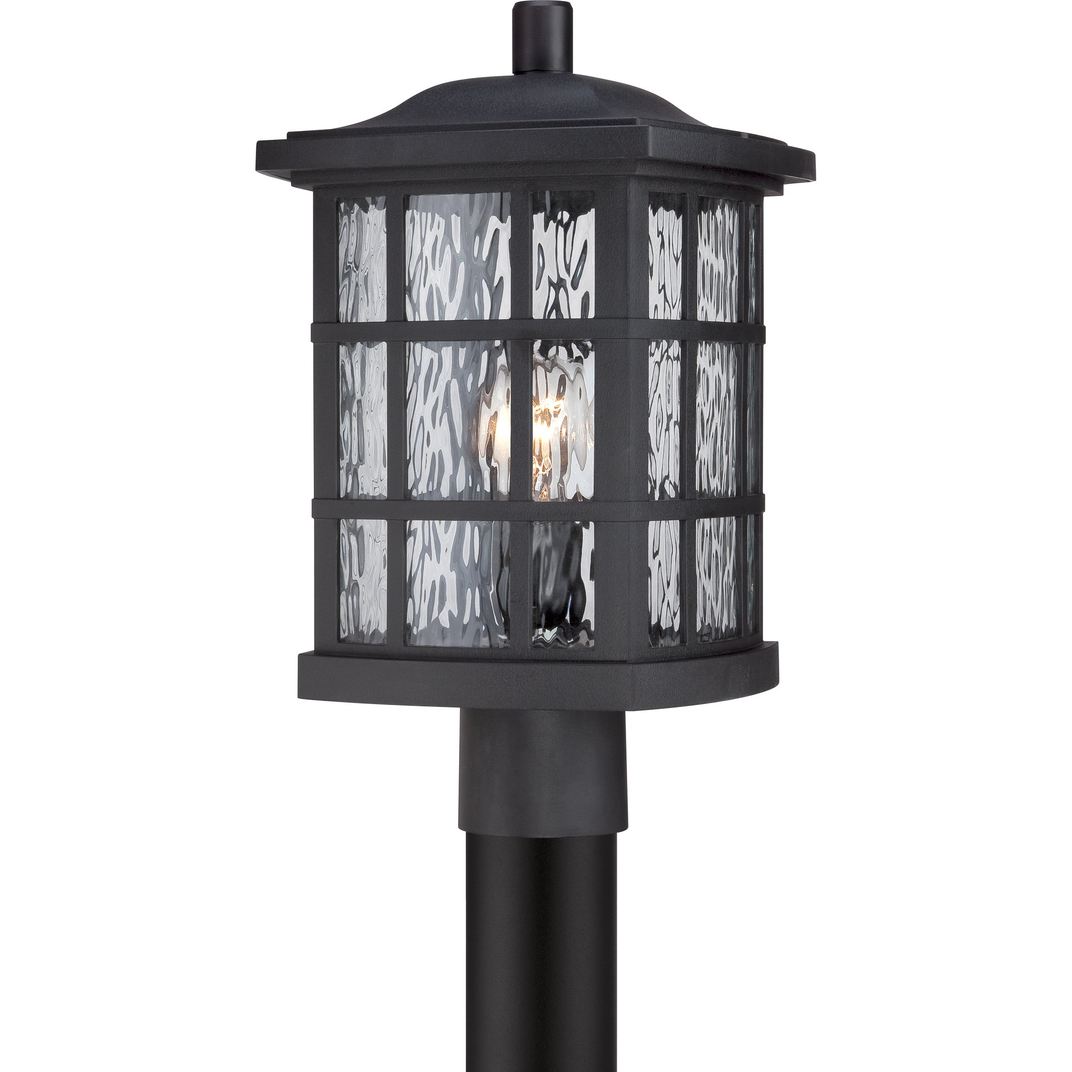 Quoizel SNN9009K One Light Outdoor Post Lantern