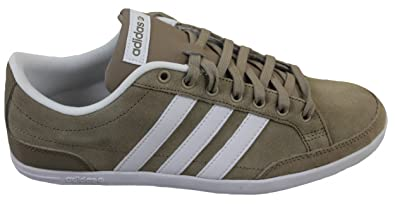 new styles 63a96 f9c04 adidas neo Men s Caflaire St Cargo Khaki F13, FTWR White and St Cargo Khaki  F13