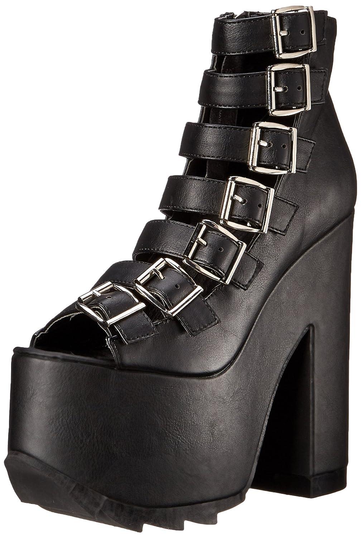 Demonia Women's CRA04/BVL Boot B014J1LY9G 9 B(M) US|Black Vegan Leather