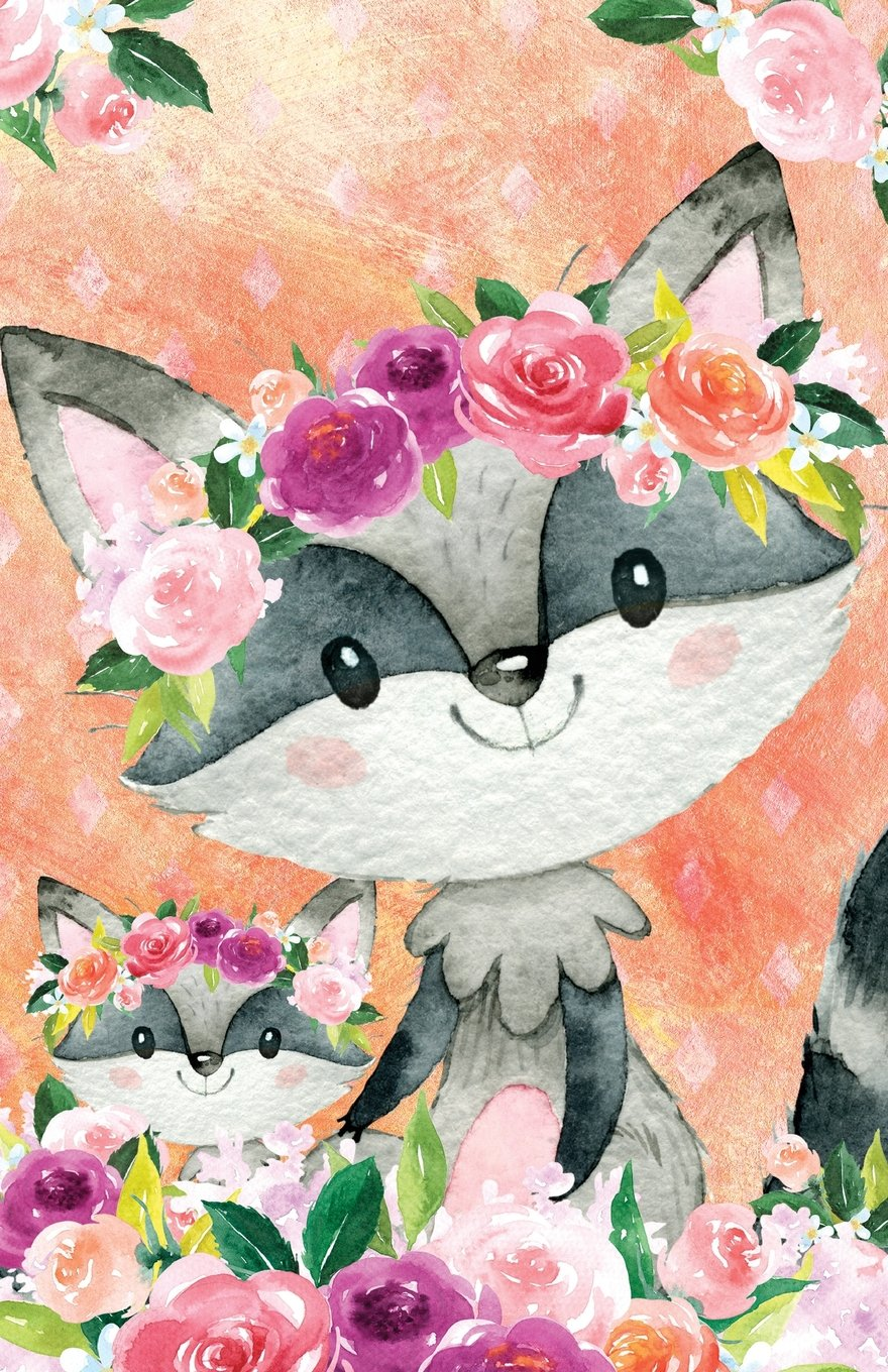 Download Journal Notebook For Animal Lovers Raccoons In Flowers: Blank Journal To Write In, Unlined For Journaling, Writing, Planning and Doodling, For Women, ... Size (Journal Notebook Plain 2) (Volume 15) pdf epub
