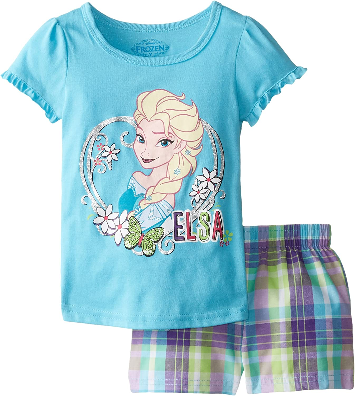 Disney Elsa Shirt and Shorts Set for Girls Multi
