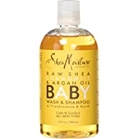 Shea Moisture Raw Shea Chamomile and Argan Oil Baby Body Wash, 13 fl.oz./384ml