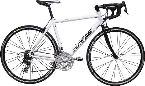 bicicleta-carretera-orus-talla-51-21-velocidades-blanca: Amazon.es ...