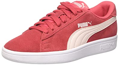 6ad216cce9 Puma Smash V2 SD Jr, Sneakers Basses Mixte Enfant, Rose (Paradise Pink-