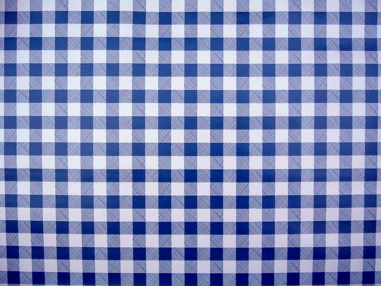 Superieur THE TABLECLOTH SHOP Blue Gingham Vinyl Tablecloth Table Cover 2 Metres:  Amazon.co.uk: Kitchen U0026 Home