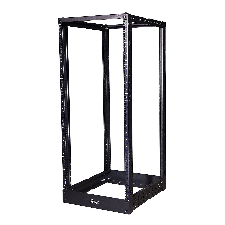 Rosewill Server Rack, 19 Inch Desktop Open Frame Server Desk Rack Free  Standing