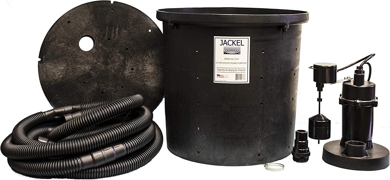 JACKEL 1/4 HP Utility Flood Pump Kit