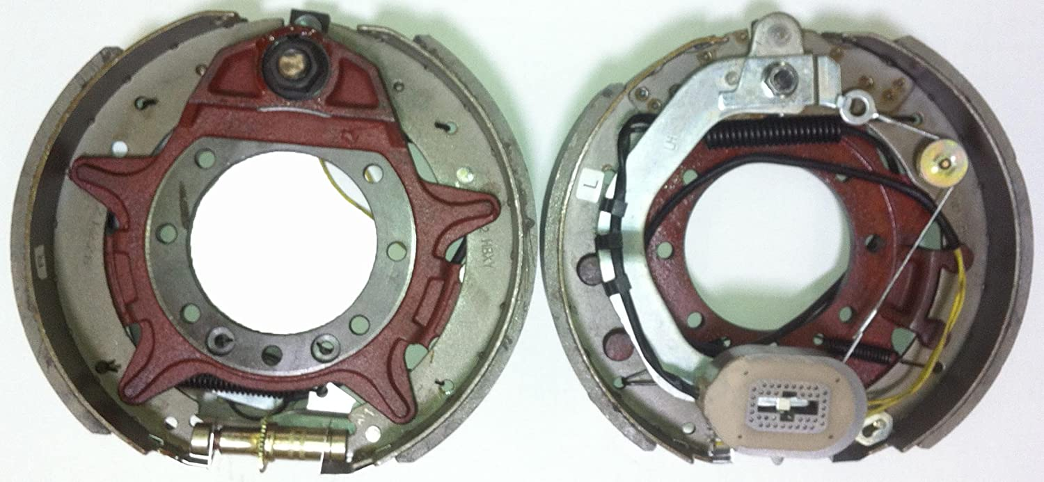 21008 Libra New 12-1//4 x 3-3//8 Trailer Electric Brake Assembly pair for 9K-10K lbs axle