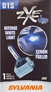 and Durable Lamp Contains 1 Bulb Headlight Bulb White High Performance Bright SYLVANIA High Intensity Discharge D2S Basic HID