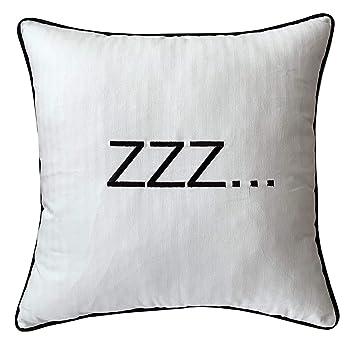 Amazon.com: EURASIA DECOR DecorHouzz - Funda de almohada ...