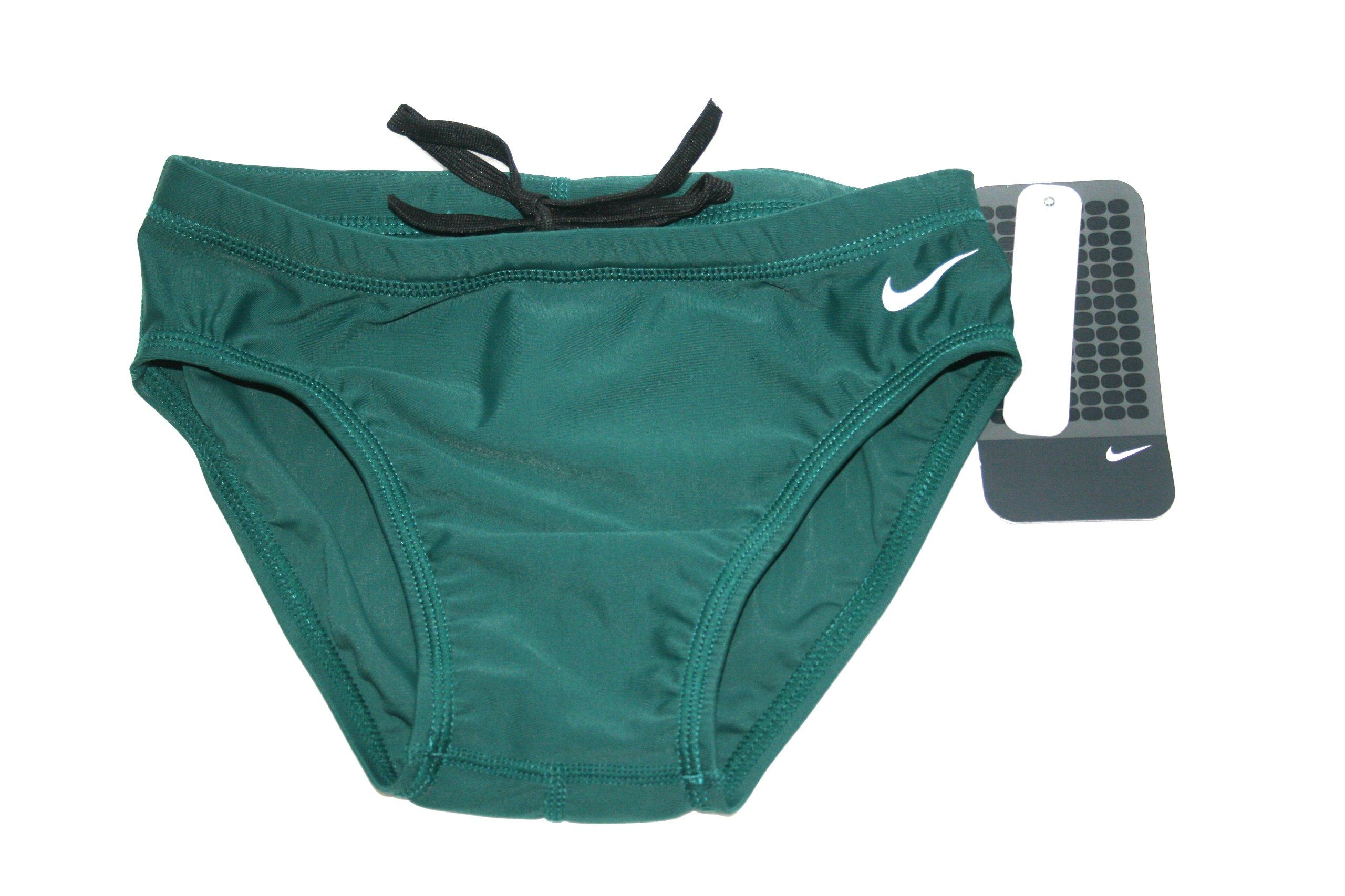 Nike swim briefs boys sz 24 style 93167-320 new chlorine resistant