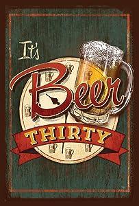 Toland Home Garden 1110012 It's Beer Thirty 12.5 x 18 Inch Decorative, Garden Flag