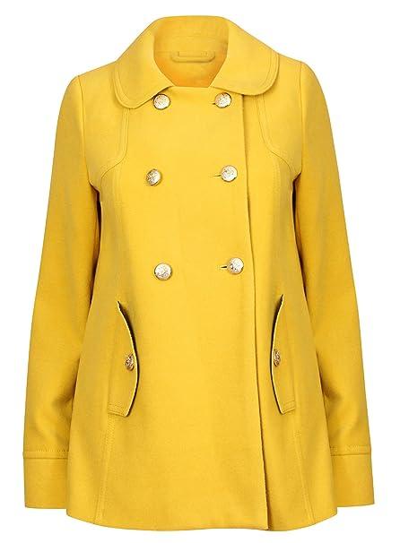 New con diseño de estampado de traje de neopreno para mujer deporte amarillo tamaño de la funda de 10 para abrigos mujer Militar: Amazon.es: Ropa y ...