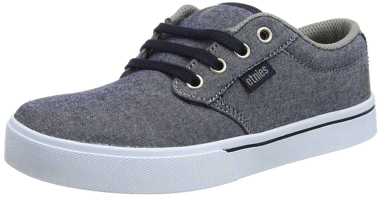 EtniesKids Jameson 2 Eco, Zapatillas de Skateboard Unisex Infantil Blue (Navy/Grey/White) 28 EU Niño 4301000098