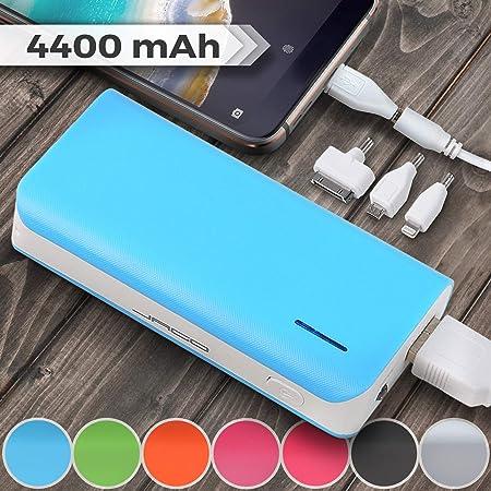 Jago Batterie Externe Chargeur | 4400mAh, 9,1x4,7x2,3 cm