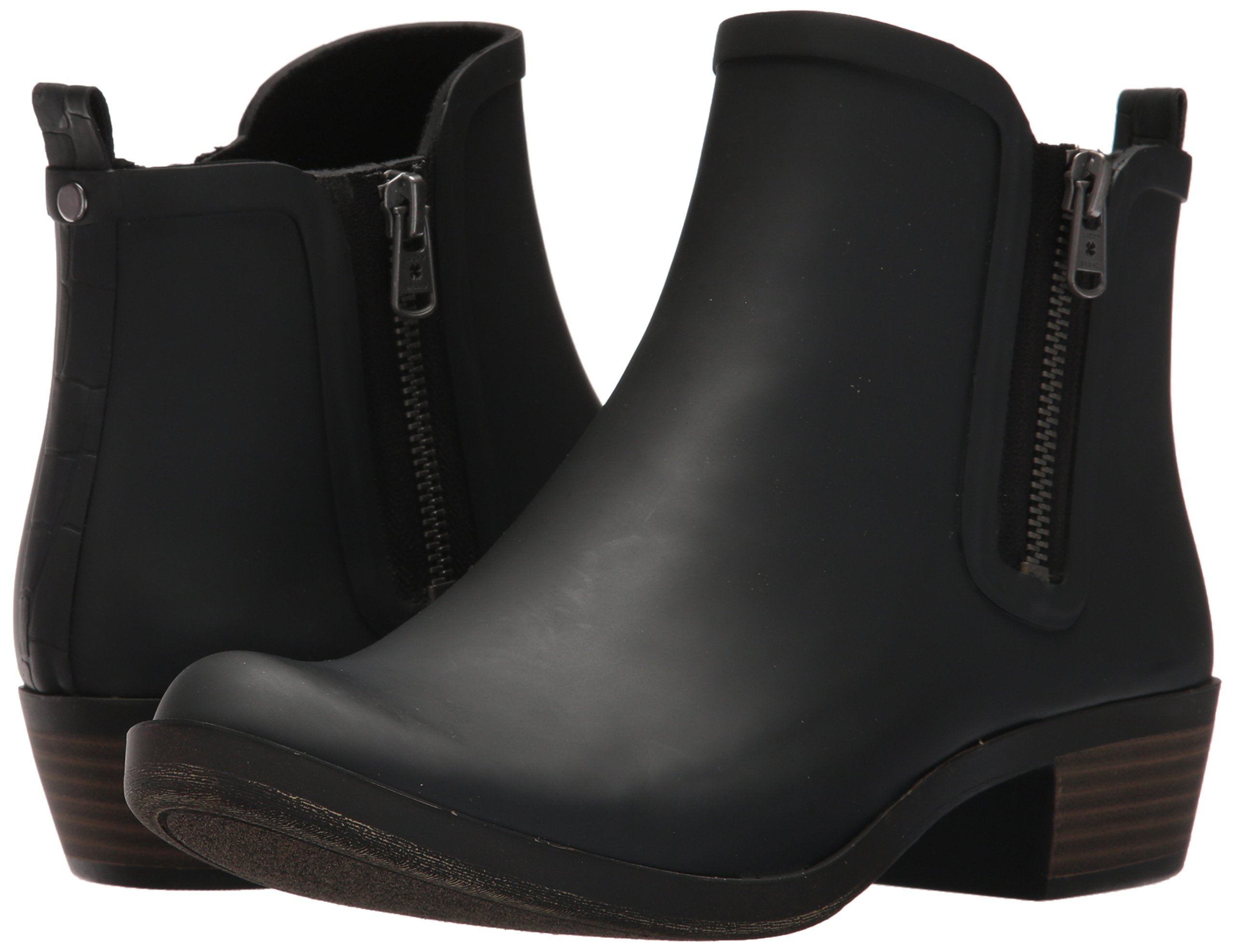 Lucky Brand Women's Baselrain Rain Boot, Black Crocodile, 10 Medium US by Lucky Brand (Image #6)