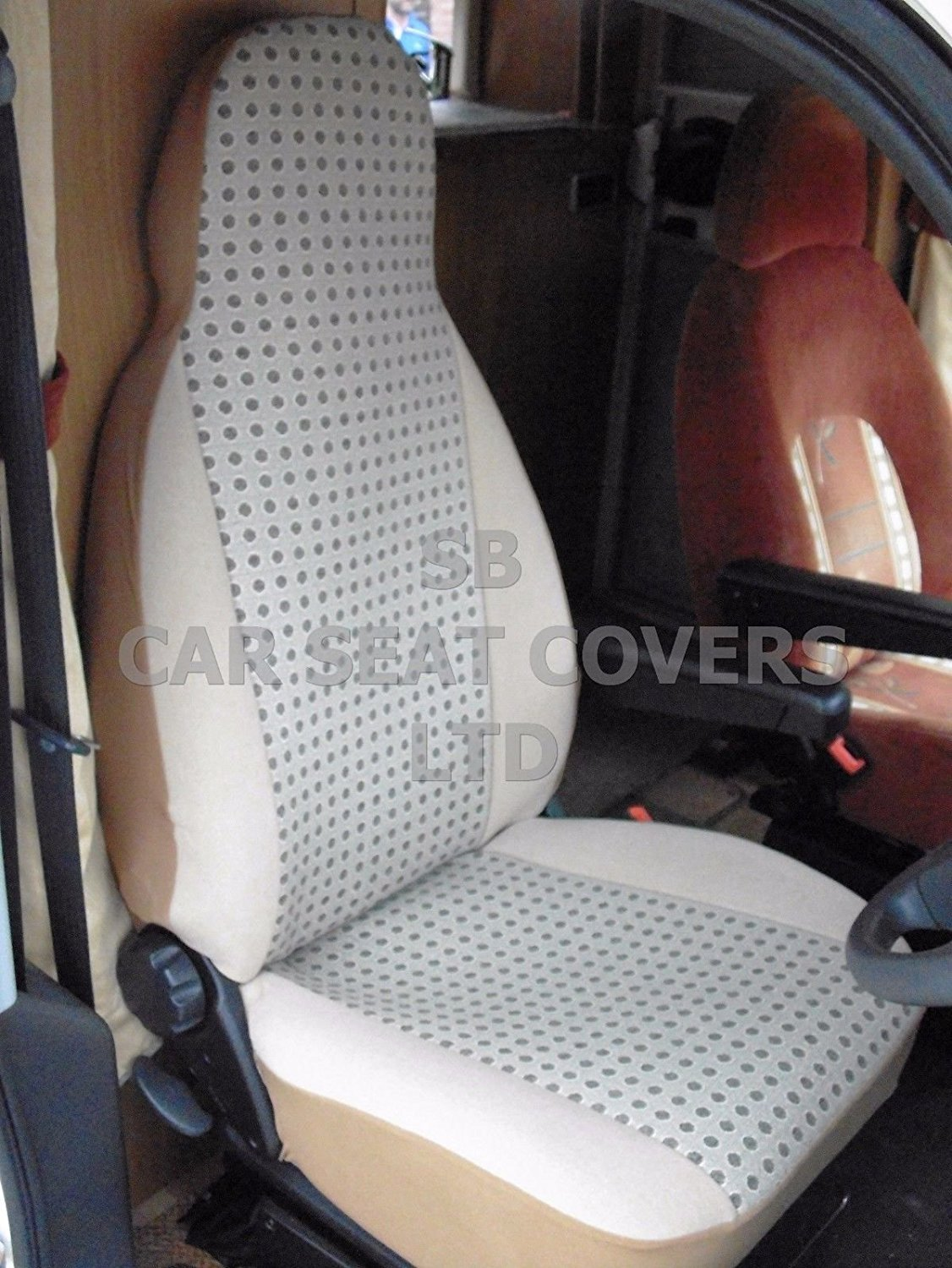 r - SUITABLE FOR FIAT DUCATO 2011 MOTORHOME, SEAT COVERS, MH-162 ALPINE TWEED Rossini Motorsports