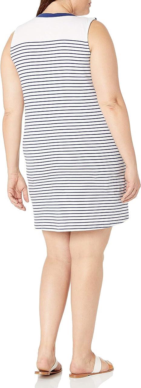 Nautica Womens Plus Size Striped Chemise
